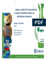 3.01_Developing a model for the prediction of system reliability indices on distribution networks_ B HER