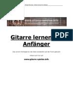 eBook Gitarre Lernen Fur Anfanger2015!10!17