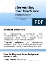 22 - Determining Textual Evidence.pptx