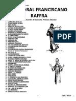 CANTORAL FRANCISCANO RAFFRA CON ACORDES.doc