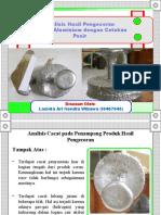 Analisis Hasil Pengecoran Aluminium