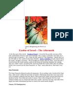 Exodus of ISRAEL - The Aftermath