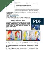 GUIA N 5 ARTES AUTORETRATO COLORES CALIDOS Y FRIOS