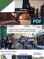 Apresentação dupla - Cidades Caminháveis
