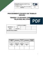 A&Q-SGC-PETS-7.0-006 PETS-Tendido y Flechado Cable de Telefonía Multipar