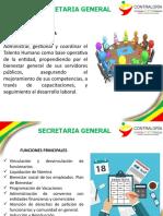 REINDUCCION SECRETARIA GENERAL