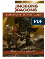 Sabrak-Olar Player's Guide