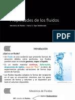Semana 1 - Propiedades de los fluidos (3)