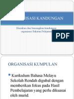 Organisasi Sukatan Pelajaran Bahasa Melayu BMM3101