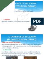 Criterios de Seleccion, Vistas Particulares, Cortes y Secciones