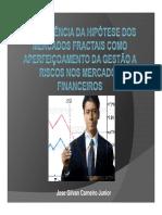 Colóquio de Investimentos a Emergência Da Hipótese Dos Mercados Fractais