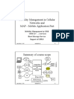 Mobility Management in Cellular   Networks
