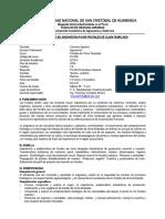 SILABO FRUTALES DE CLIMA TEMPLADO