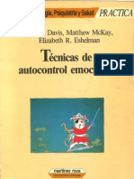 Técnicas de autocontrol emocional - Martha Davis, Matthew McKay, Elizabeth Eshelman.pdf