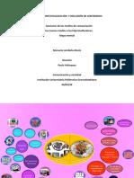 Mapa mental y relatoria, comunicacion y sociedad