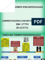 LINEA DE TIEMPO - PSICOPATOLOGIA - 2020