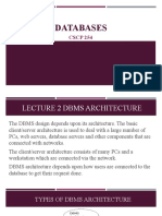 CSCP 254 - Databases - Lecture 02 DBMS (1)
