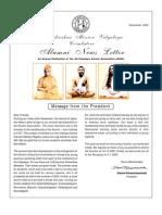 Ramakrishna Mission Vidyalaya Newsletter - 2002