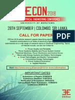 EECON 2018 ACTIVITY PAPER