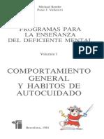 Programas para la enseñanza del deficiente mental - Michael Bender y Peter Valletutti.pdf