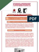 COMUNICADO 31 DE ENERO EMBAJADA DE ESPAÑA