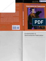 ECE 659 Fundamentals of Semiconductor Fabrication (May,Sze-2004)