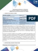 Syllabus_2020-1 BIOTECNOLOGIA