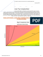 Big-O Algorithm Complexity Cheat Sheet (Know Thy Complexities!) @ericdrowell