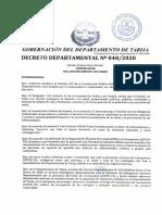 Dec Dep N 048-2020