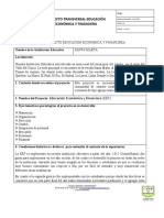 CUADRO RESUMEN PROYECTO EEF-1