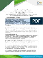 Fase 3 - Desarrollo de la problemática y consolidación del proyectodfgdf