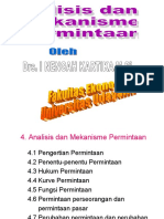 Materi 4 Analisis & mekanisme permintaan