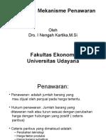 Materi 5 Analisis & Mekanisme Penawaran.ppt