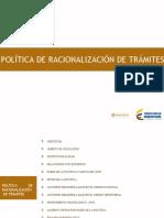Politica Racionalizacion de Trámites. (1).pptx