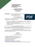 PROGRAMA DE D AGRARIO-2