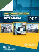 Seminario Automatización Totalmente Integrada_06 y 07 de Setiembre