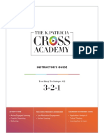 Cross-Academy@3-2-1 Technique
