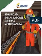 7. MANUAL DE SEGURIDAD EN LABORES SUBTERRÁNEAS