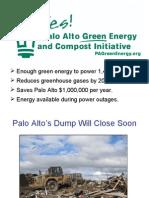 Palo Alto Green Energy Initiative Presentation