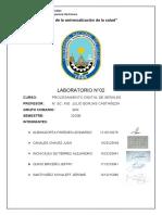 Laboratorio 2-2020B PDS
