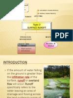 Topic 6- Streamflow Measurement