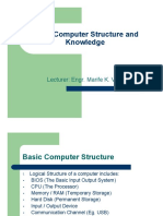 Basic Computer Structure and Knowledge