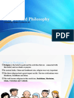 Religion and philosophy ppt