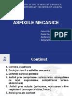 Asfixiile mecanice