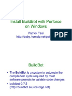 buildbot + p4 + windows