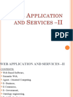 Web Applications and Services