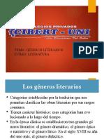 GENEROS LITERARIOS 2DO