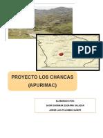 Proyecto CHANCAS