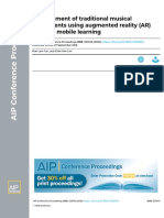 2018-C-development of traditional musical instruments using AR thru mobile learning