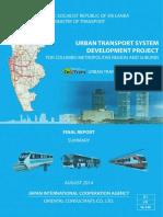 ComTrans Study by JICA Report